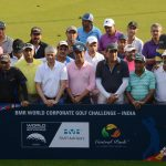 Former Indian Cricketer Ajit Agarkar wins the BMR World Corporate Golf Challenge India